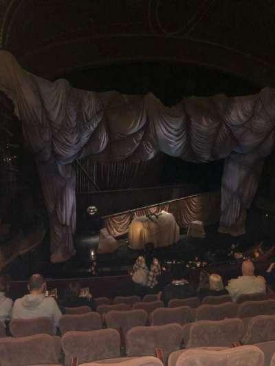 Majestic Theatre, sección: Front Mezz, fila: G, asiento: 13