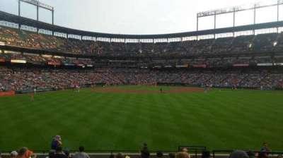 Oriole Park at Camden Yards, sección: 94, fila: 14, asiento: 5