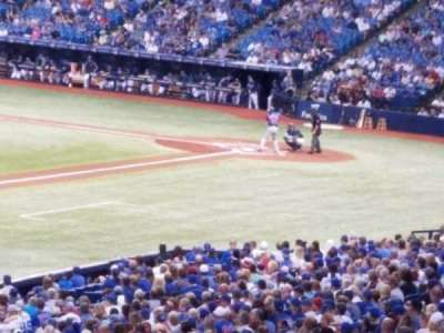 Tropicana Field, sección: 131, fila: tt, asiento: 14