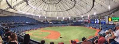 Tropicana Field, sección: 316, fila: C, asiento: 6