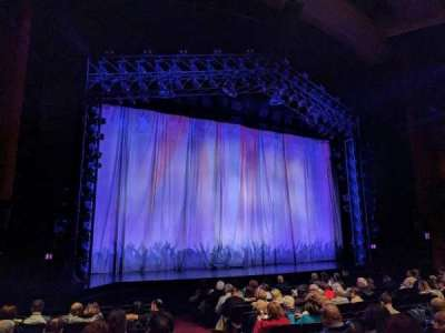 Marquis Theatre, sección: ORCH, fila: L, asiento: 1