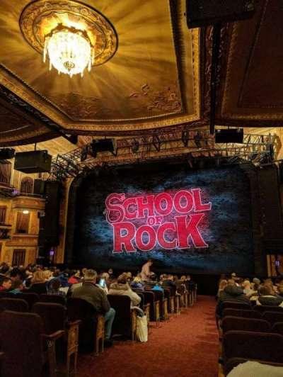 Winter Garden Theatre, sección: ORCHO, fila: T, asiento: 2