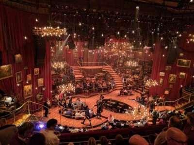 Imperial Theatre, sección: Rear Mezzanine, fila: B, asiento: 2