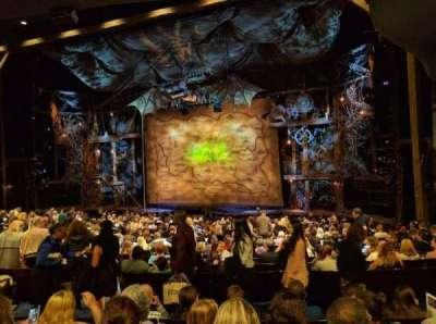 Gershwin Theatre, sección: ORCHST, fila: U, asiento: 16