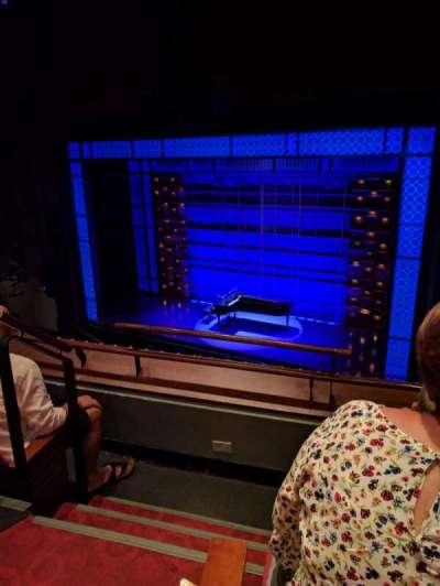 Stephen Sondheim Theatre, sección: Mezzanine, fila: CC, asiento: 2