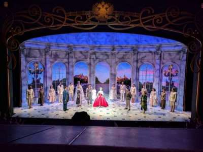 Broadhurst Theatre, sección: MEZZC, fila: A, asiento: 108