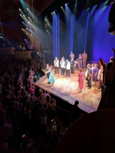 Bernard B. Jacobs Theatre, sección: BOXES, fila: C, asiento: 3