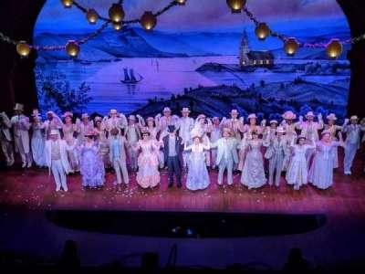 Shubert Theatre, sección: BALC, fila: A, asiento: 106