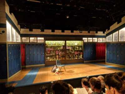 Shiva Theater at The Public Theater, fila: D, asiento: 14