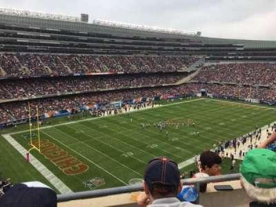 Soldier Field, sección: 444, fila: 2, asiento: 12