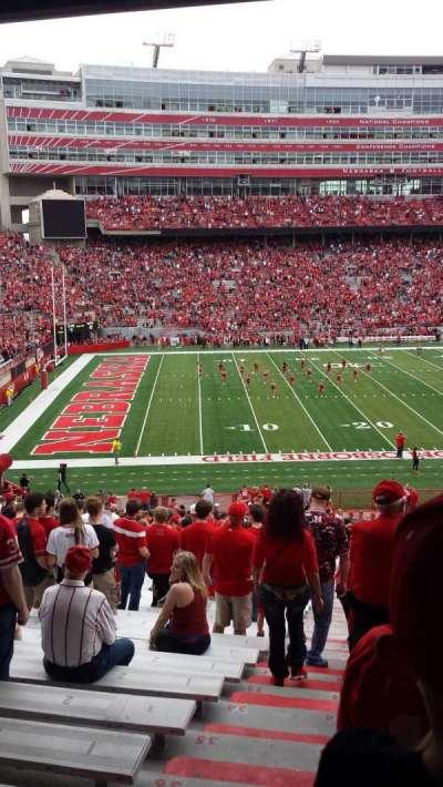 Memorial Stadium, sección: 9, fila: 40, asiento: 24