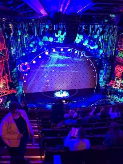 Palace Theatre (Broadway), sección: Rear Mezz, fila: K, asiento: 113