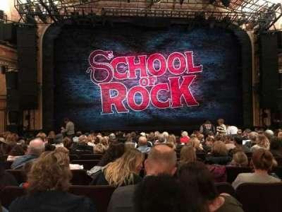 Winter Garden Theatre, sección: Orch C, fila: P, asiento: 114