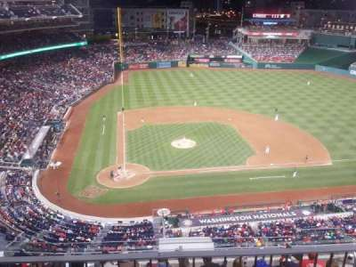 Nationals Park, sección: 317, fila: L