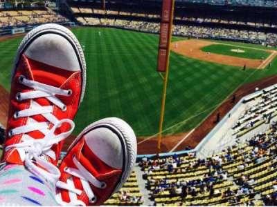 Dodger Stadium, sección: Way, fila: Up, asiento: High
