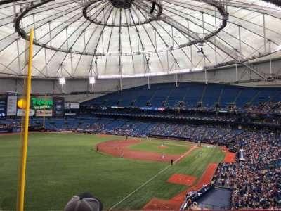 Tropicana Field, sección: 341, fila: C, asiento: 9
