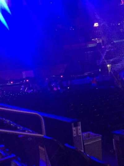 Philips Arena, sección: 113, fila: C, asiento: 3