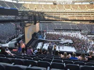 MetLife Stadium, sección: 241, fila: 10, asiento: 5