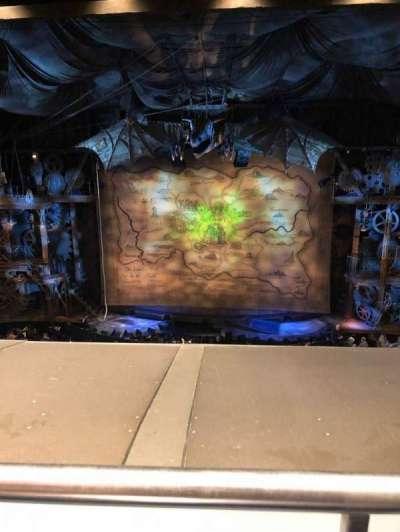 Gershwin Theatre, sección: Front Mezzanine C, fila: A, asiento: 114