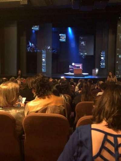 Music Box Theatre, sección: Orchestra Center, fila: N, asiento: 107