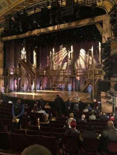 Richard Rodgers Theatre, sección: Orchestra R, fila: N, asiento: 18