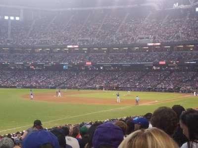 Chase Field, sección: 134, fila: 26, asiento: 15