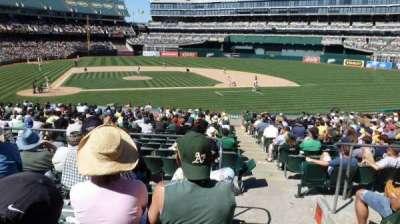 Oakland Alameda Coliseum, sección: 114, fila: 25, asiento: 1