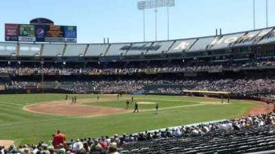 Oakland Alameda Coliseum, sección: 126R, fila: 22, asiento: 2
