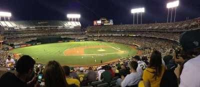 Oakland Alameda Coliseum, sección: 222, fila: 6, asiento: 18