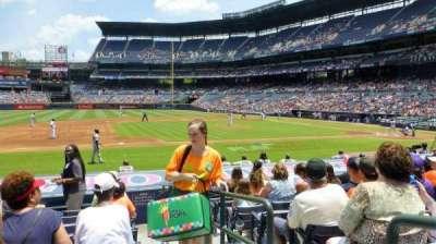 Turner Field, sección: 114L, fila: 13, asiento: 101