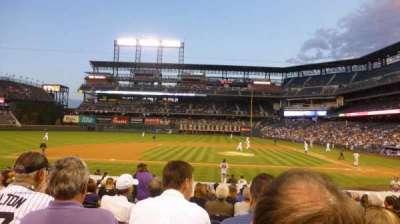 Coors Field, sección: 137, fila: 19, asiento: 10