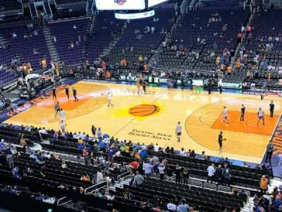 Talking Stick Resort Arena, sección: 217, fila: 1, asiento: 12