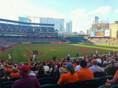 Oriole Park at Camden Yards, sección: 30, fila: 26, asiento: 6