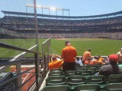 Oriole Park at Camden Yards, sección: 86, fila: 16, asiento: 12