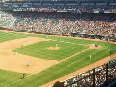 Oriole Park at Camden Yards, sección: 364, fila: 4, asiento: 9