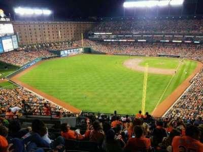 Oriole Park at Camden Yards, sección: 378, fila: 19, asiento: 17