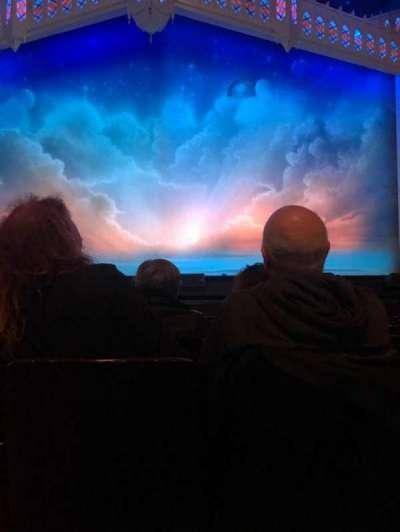 Orpheum Theatre (San Francisco), fila: G, asiento: 102