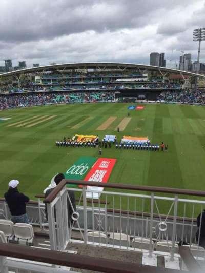 Kia Oval, sección: Pavilion Top, fila: F, asiento: 12