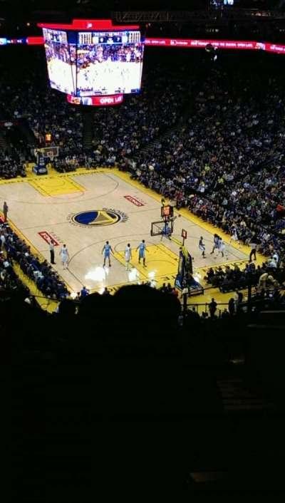 Oracle Arena, sección: 227, fila: 10, asiento: 1