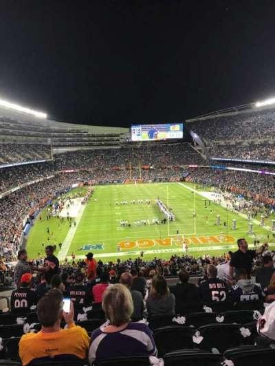 Soldier Field, sección: 353, fila: 12, asiento: 12
