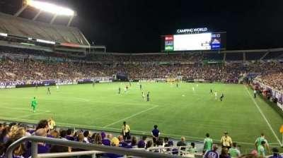 Camping World Stadium, sección: 145, fila: CC, asiento: 9