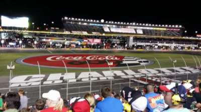 Charlotte Motor Speedway, sección: General Motors G, fila: 23, asiento: 30