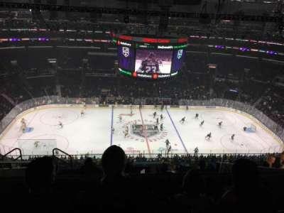 Staples Center, sección: 318, fila: 10, asiento: 30