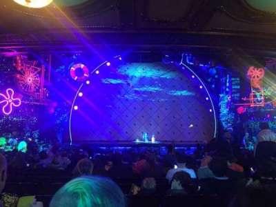 Palace Theatre (Broadway), sección: Orchestra, fila: T, asiento: 113