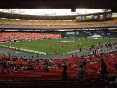 RFK Stadium, sección: 314, fila: 8, asiento: 8
