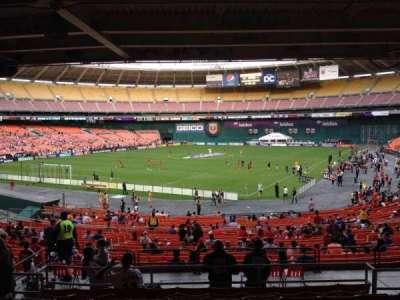 RFK Stadium, sección: 316, fila: 9, asiento: 8