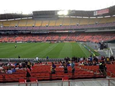 RFK Stadium, sección: 329, fila: 6, asiento: 9
