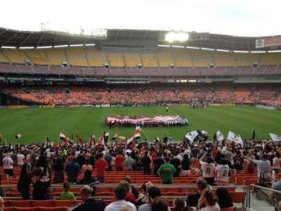RFK Stadium, sección: 334, fila: 9, asiento: 11