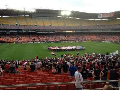 RFK Stadium, sección: 335, fila: 6, asiento: 11