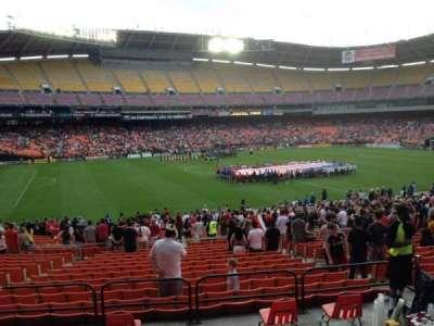 RFK Stadium, sección: 336, fila: 4, asiento: 11